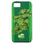 Ireland Shamrock Stripes (Solid) iPhone 5 Case