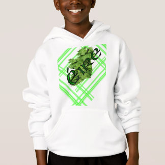 Ireland Shamrock Stripes v2 by Kenneth Yoncich Hoodie