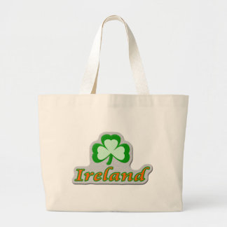 Ireland Shamrock Tote Bag