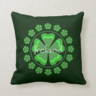 Ireland Shamrocks Pillow