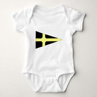 Ireland Skerries Sailing Club Ensign Baby Bodysuit