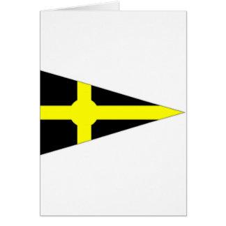 Ireland Skerries Sailing Club Ensign Card