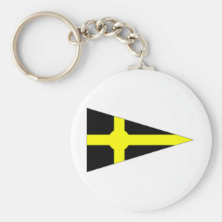 Ireland Skerries Sailing Club Ensign Keychain