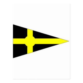 Ireland Skerries Sailing Club Ensign Postcard