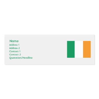 Ireland - Skinny Business Card Template