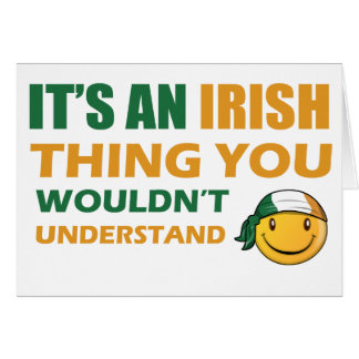 Ireland Smiley Designs Cards