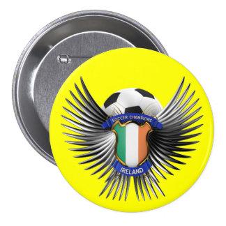 Ireland Soccer Champions Pin