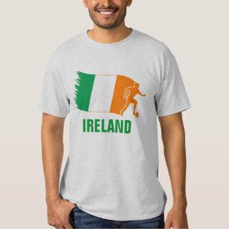Ireland Soccer Flag Tee Shirt