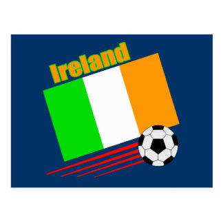 Ireland Soccer Team Postcard