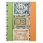 Ireland Stamp Spiral Notebook
