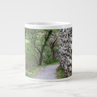 Ireland, Stone Wall, County Cork, Photography Large Coffee Mug