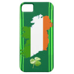 Ireland Stripes (Solid) iPhone 5 Cases