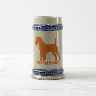 Ireland Terrier Beer Stein
