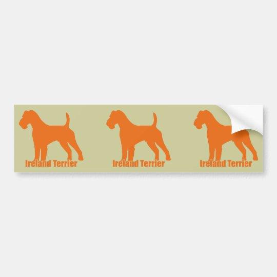 Ireland Terrier Bumper Sticker