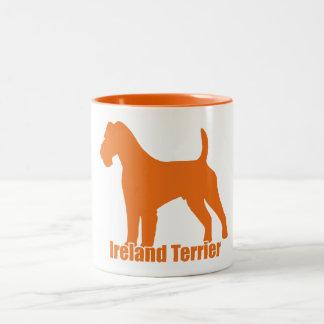 Ireland Terrier Two-Tone Coffee Mug