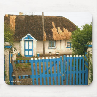 Ireland Thatched Cottage Mousepad