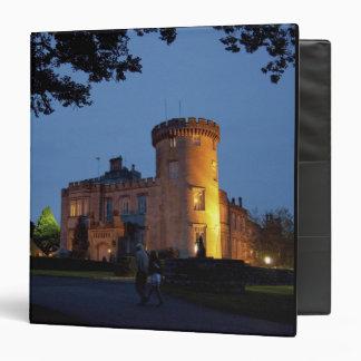 Ireland, the Dromoland Castle lit at dusk, Vinyl Binders