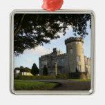Ireland, the Dromoland Castle side entrance. Christmas Ornament