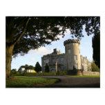 Ireland, the Dromoland Castle side entrance. Postcard