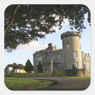 Ireland, the Dromoland Castle side entrance. Stickers