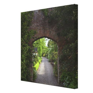 Ireland, the Dromoland Castle very green Canvas Print