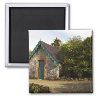 Ireland, the Dromoland Castle walled garden 2 Inch Square Magnet