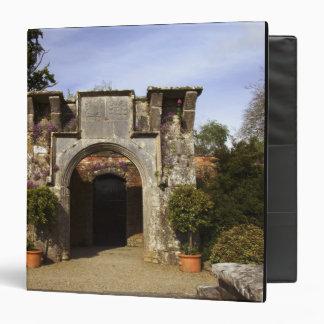 Ireland, the Dromoland Castle Walled Garden Vinyl Binder