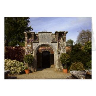 Ireland, the Dromoland Castle Walled Garden Greeting Card