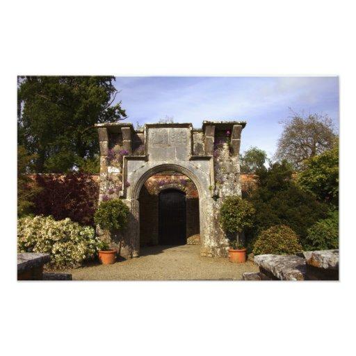 Ireland, the Dromoland Castle Walled Garden Photo