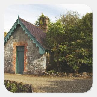 Ireland, the Dromoland Castle walled garden Stickers