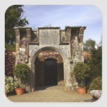 Ireland, the Dromoland Castle Walled Garden Square Stickers