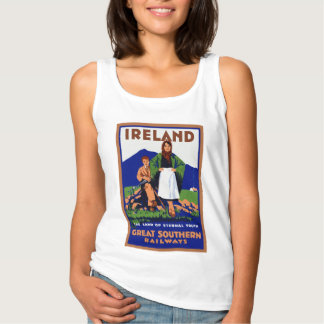 Ireland ~ The Land of Eternal Youth Tank Top