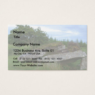 Ireland Tombs On Green Hill Business Card