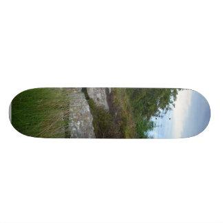 Ireland Tombs On Green Hill Custom Skate Board