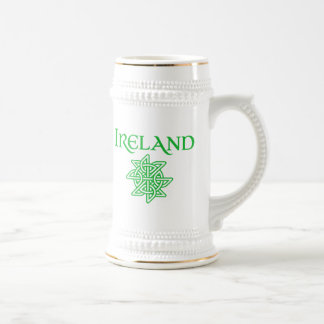 Ireland - Traditional Celtic Knot Pattern Beer Stein