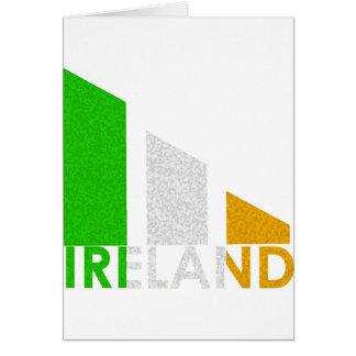 Ireland Tri Bar Design Card