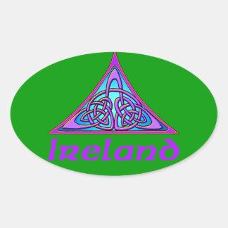 Ireland - Trinity Oval Sticker
