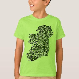 Ireland Typography T-Shirt