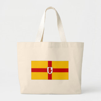 Ireland Ulster Flag Canvas Bags