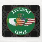 Ireland USA Claddagh Mousemat Mouse Pad
