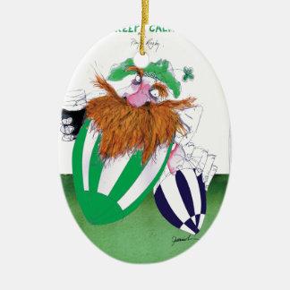 ireland v scotland rugby balls tony fernandes ceramic ornament