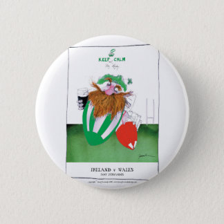 ireland v wales rugby balls tony fernandes button