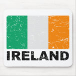 Ireland Vintage Flag Mousepads