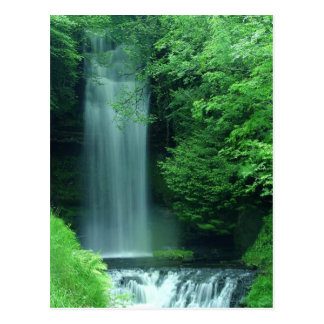 Ireland Waterfall Postcard