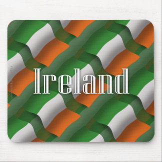 Ireland Waving Flag Mouse Pad