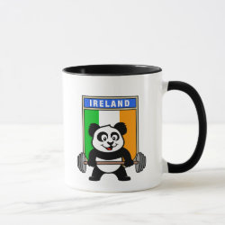 Irish Weightlifting Panda Combo Mug
