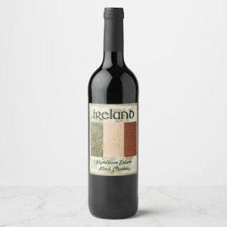 Ireland Wine Label