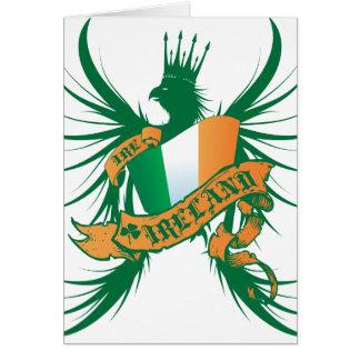 Ireland Winged Greeting Card