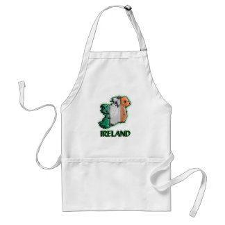 Ireland with title adult apron