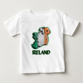 Ireland with title baby T-Shirt